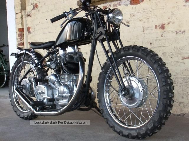 Royal Enfield  Custom Bullet 500 1944 Vintage, Classic and Old Bikes photo