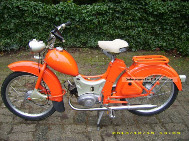 Simson  SR 2 E 1966 Vintage, Classic and Old Bikes photo
