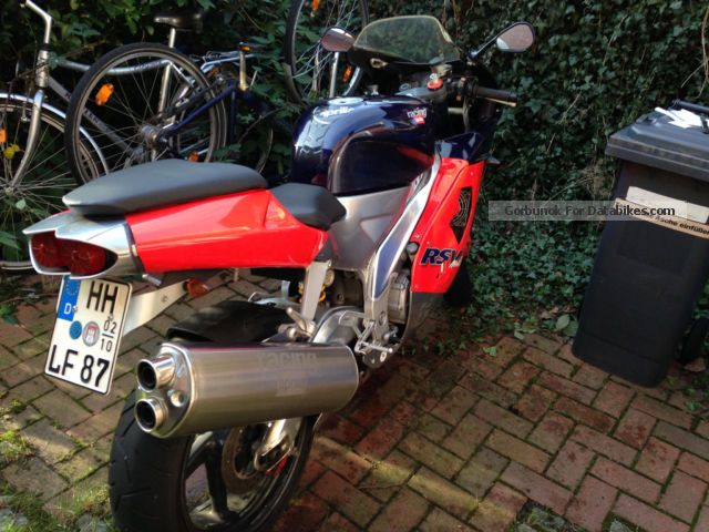 1999 Aprilia  RSV 1000 Motorcycle Sports/Super Sports Bike photo