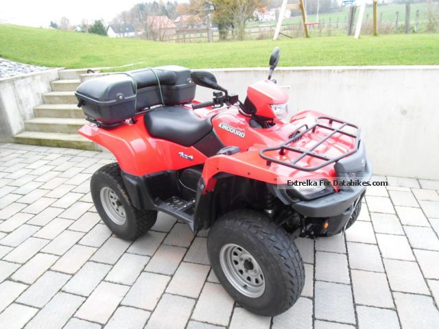 2009 Suzuki  LTA 750 Motorcycle Quad photo