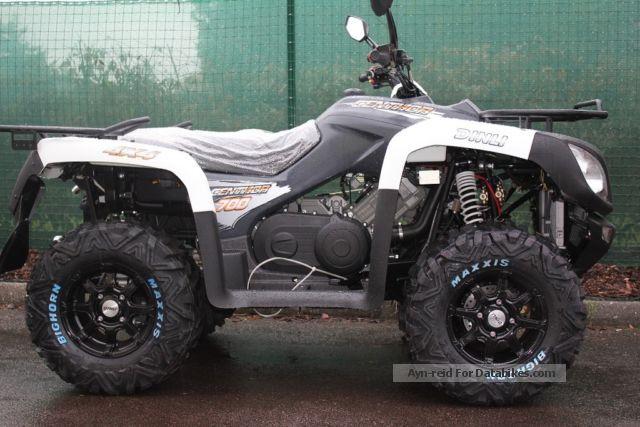 2012 Dinli  700 Centhor Motorcycle Quad photo