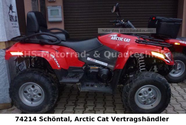 2013 Arctic Cat  TRV 500i 4x4, LOF Motorcycle Quad photo