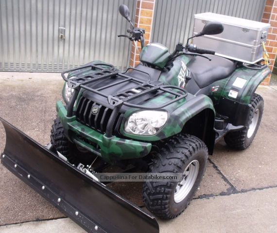 CFMOTO  Atlas Explorer 500 4x4 2011 Quad photo