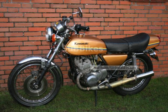 Kawasaki  S2 KH 350 Cafe Racer ähl. 500 750 S1 S3 KH 1974 Vintage, Classic and Old Bikes photo