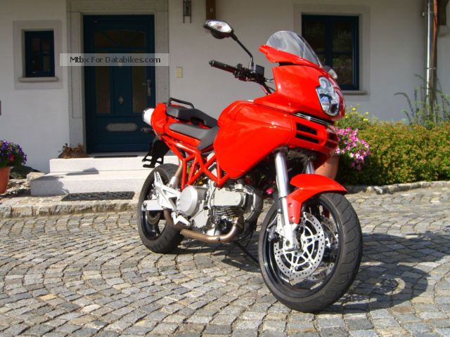 2006 Ducati  Multistrada MTS 620 km little! Top condition! Motorcycle Motorcycle photo