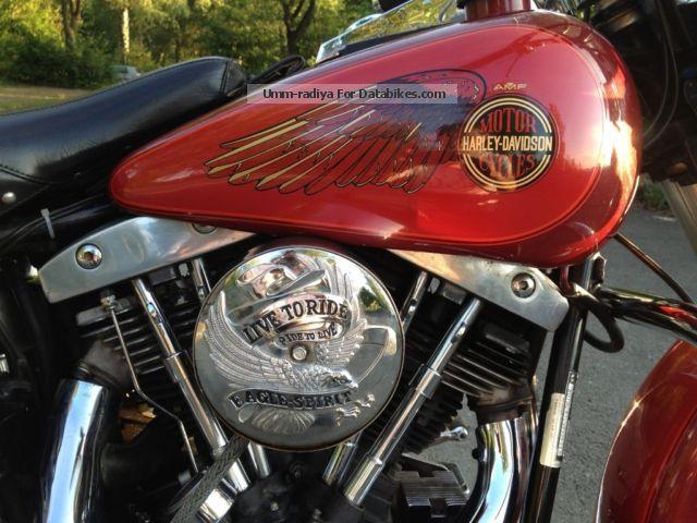 1981 Harley Davidson  Harley-Davidson Electra Glide FLH Motorcycle Motorcycle photo