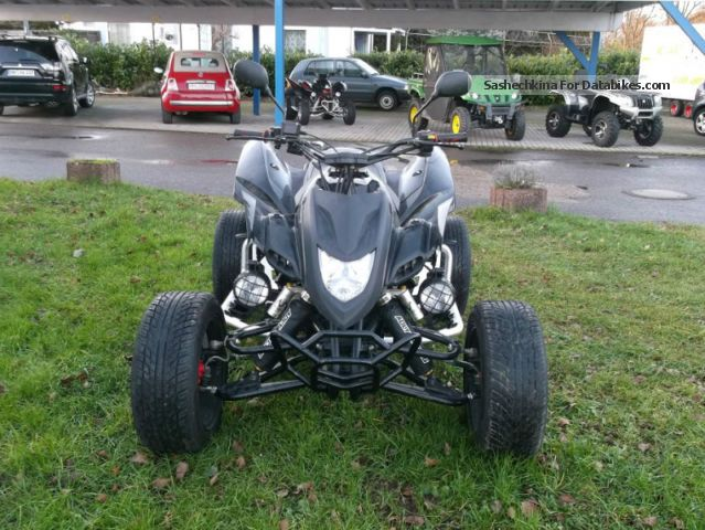 2012 Adly  500 Hurricane FLAT-LOF Motorcycle Quad photo