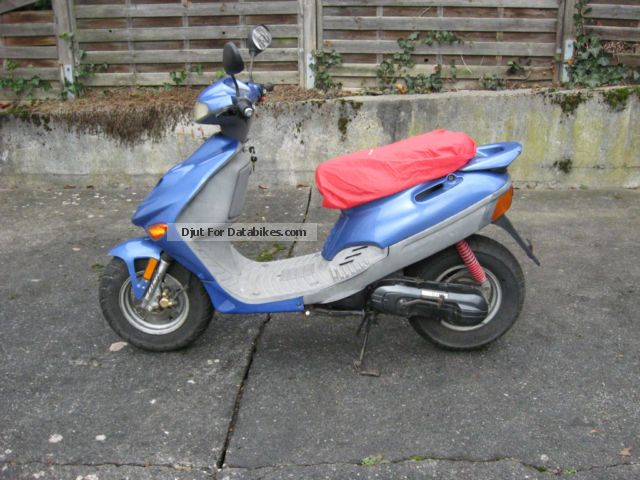 2002 Adly  jt-50 Motorcycle Scooter photo