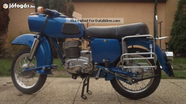 Mz  Trophy 1972 Vintage, Classic and Old Bikes photo