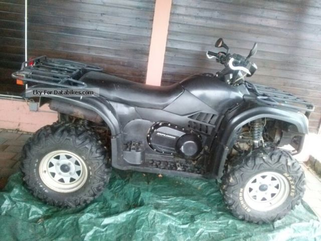 2007 Explorer  ATLAS CF500A ATV Motorcycle Quad photo