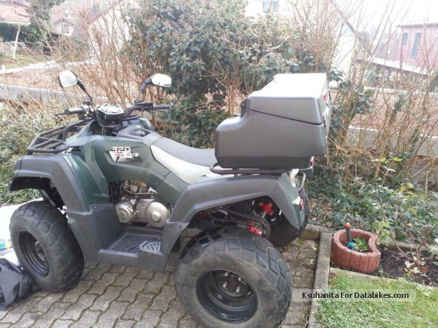 2011 Adly  Hercules 320 Motorcycle Quad photo