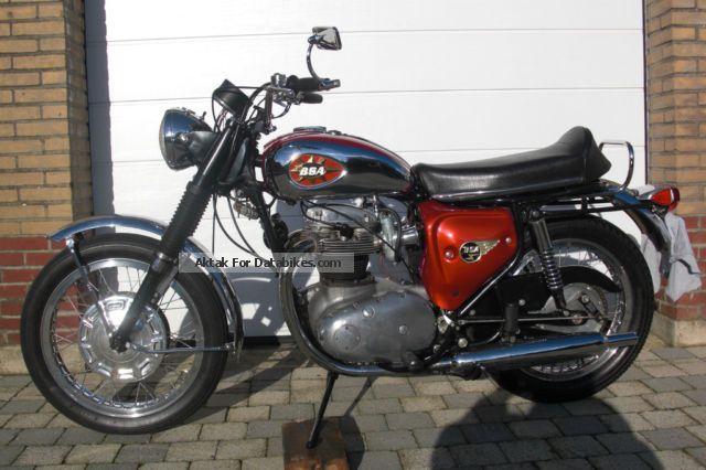 1968 BSA  bsa lightning A65 Motorcycle Naked Bike photo