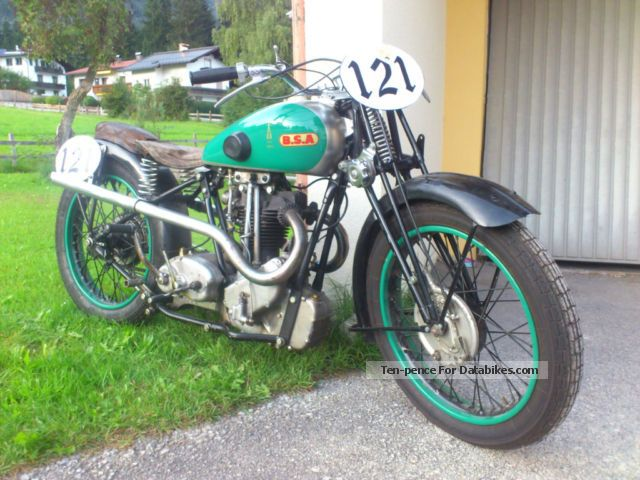 BSA  bluestar 500 1935 Vintage, Classic and Old Bikes photo