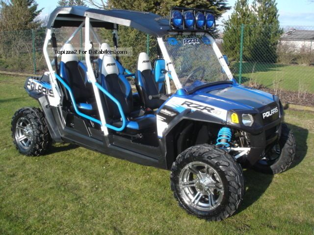 2011 Polaris  RZR 4 800EFI 2011 Motorcycle Quad photo