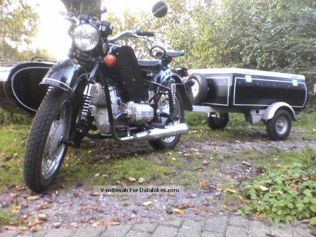 1999 Ural  / Dnepr MT 16 with Vt and trailers Motorcycle Motorcycle photo