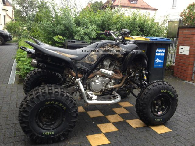 2012 Yamaha  700R Special Edition Motorcycle Quad photo
