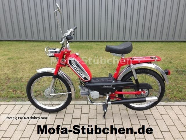 1980 Hercules  Optima 3 / P3 scooter 40km / h / 1.Hand / NEW CONDITION Motorcycle Motor-assisted Bicycle/Small Moped photo
