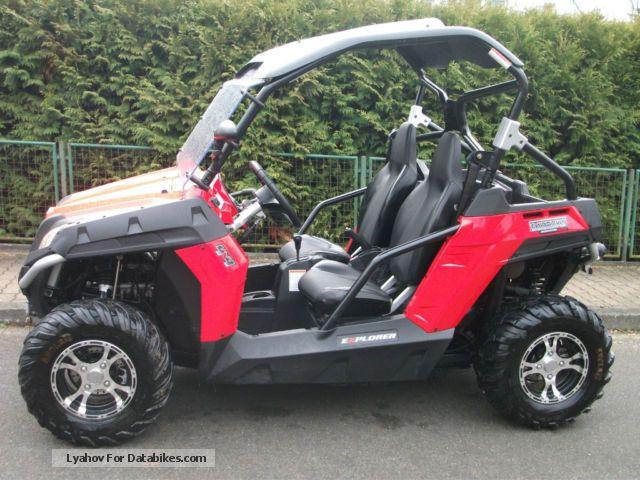 2011 Cfmoto Bazooka 625 Terracross