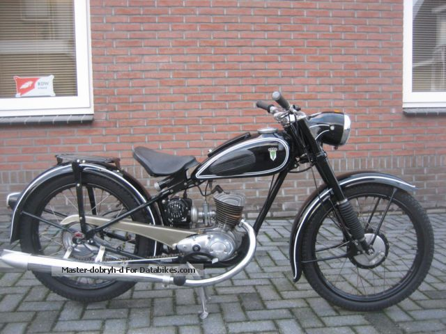 DKW  RT 2 125CC 1953 Vintage, Classic and Old Bikes photo