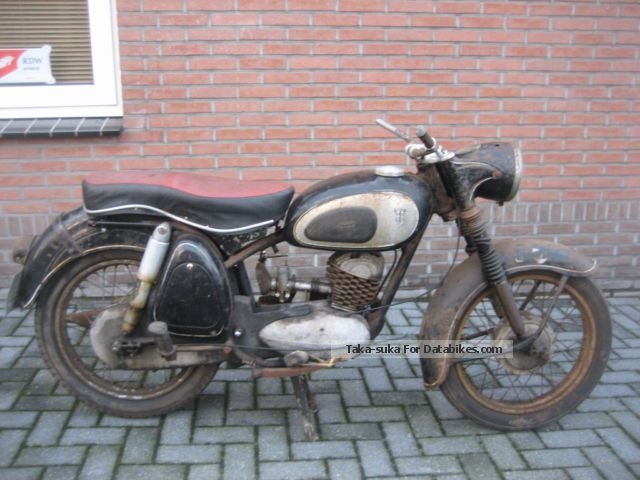 1956 DKW  RT 200/3 BARN FUND PRICE 999 EURO Motorcycle Motorcycle photo