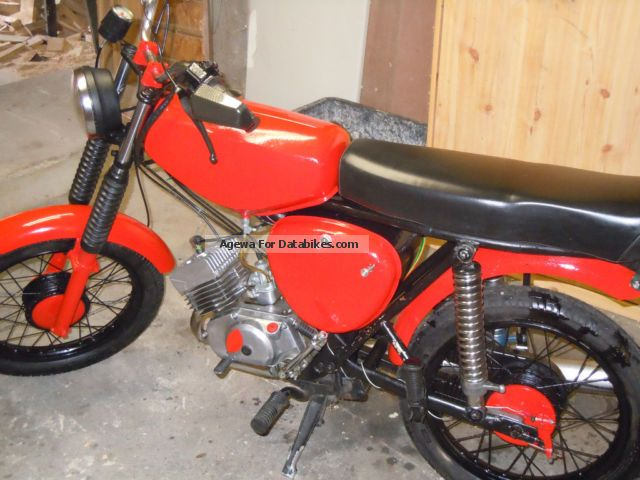 1970 Simson  S51 Motorcycle Motor-assisted Bicycle/Small Moped photo