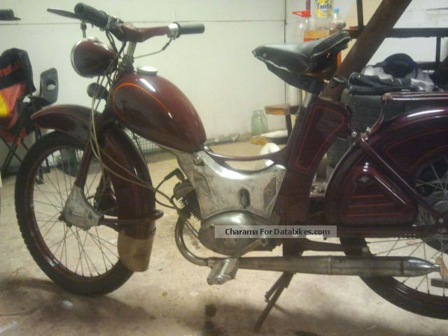 Simson  SR2 1969 Vintage, Classic and Old Bikes photo