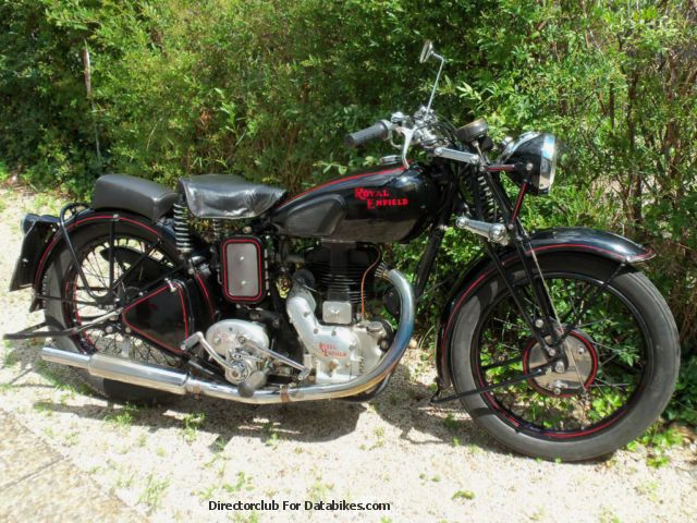 Royal Enfield  CM 1940 Vintage, Classic and Old Bikes photo