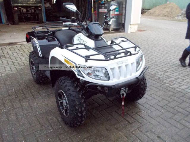 2013 Arctic Cat TRV 1000 Limited Utility ATV Specifications