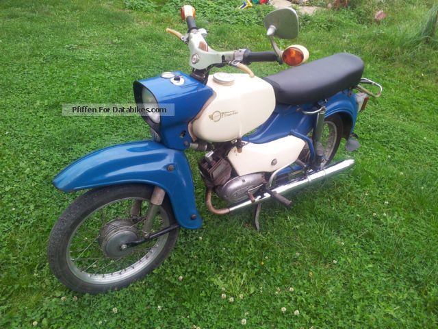 Simson  SR 4-3 Sperber 1969 Vintage, Classic and Old Bikes photo