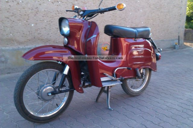 1982 Simson  KR2 / 2 Motorcycle Motor-assisted Bicycle/Small Moped photo