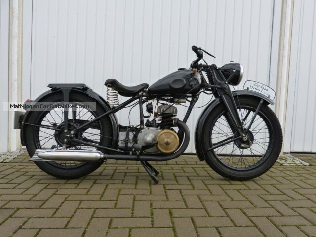 1934 Zundapp  Zündapp DE200 Motorcycle Other photo