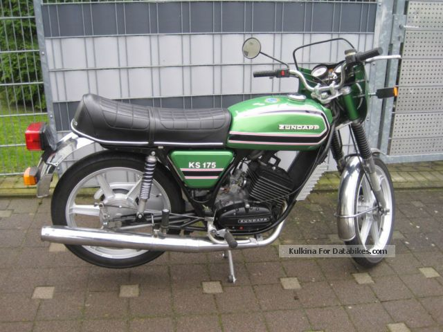 Zundapp  Zündapp KS 175 type 521-50 1978 Vintage, Classic and Old Bikes photo