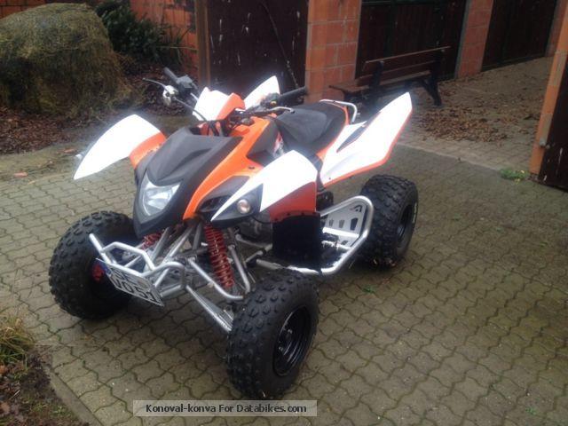 2009 Adly  ATV 300XS Motorcycle Quad photo