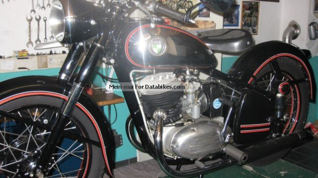 Puch  TF 250 1951 Vintage, Classic and Old Bikes photo