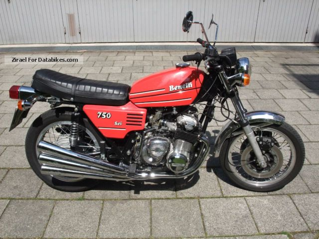 Benelli  750 sei 1978 Vintage, Classic and Old Bikes photo