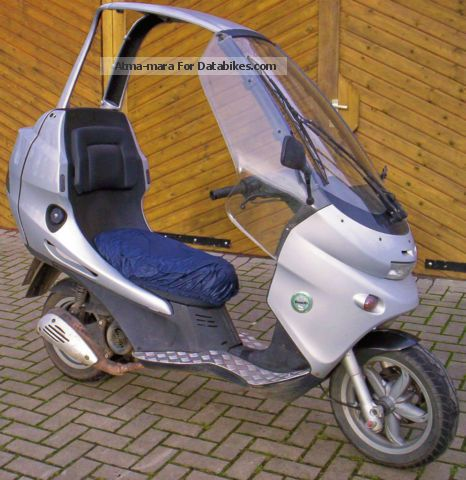 2002 Benelli  Adiva 125 no BMW C1 folding roof easier Sturzsch. Motorcycle Scooter photo