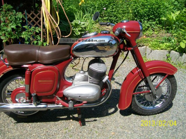 Jawa  Type 354 1956 Vintage, Classic and Old Bikes photo