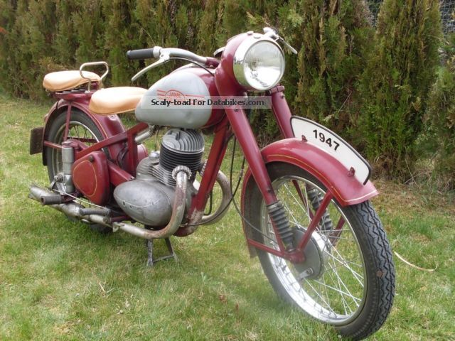 Jawa  250 Perak 1947 Vintage, Classic and Old Bikes photo