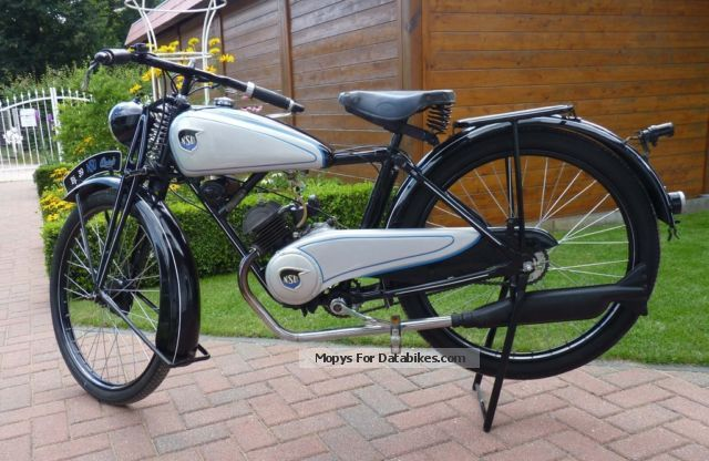 NSU  Quick 98 1939 Vintage, Classic and Old Bikes photo