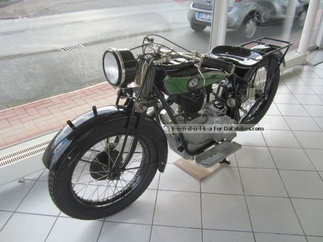 1928 NSU  T 501 Motorcycle Motorcycle photo