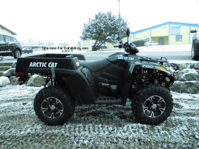2012 Arctic Cat  700 TBX with LOF Motorcycle Quad photo