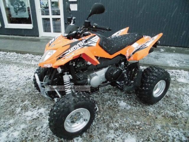 2012 Arctic Cat  300 DVX New Motorcycle Quad photo