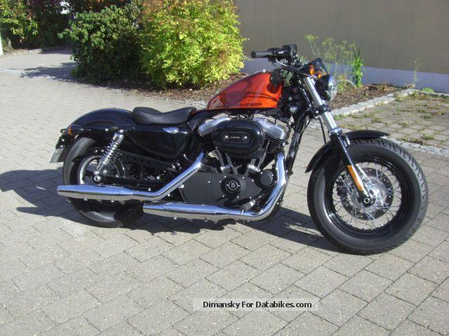 2013 Harley Davidson  Harley-Davidson Sportster 48 forty-eight sedona orange rare Motorcycle Motorcycle photo