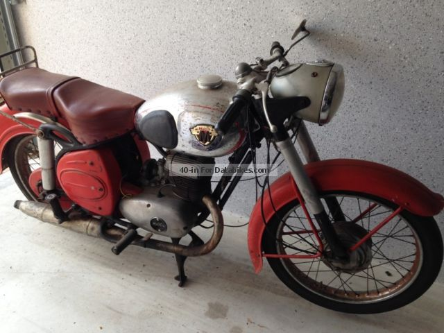 Maico  M 200 1954 Vintage, Classic and Old Bikes photo