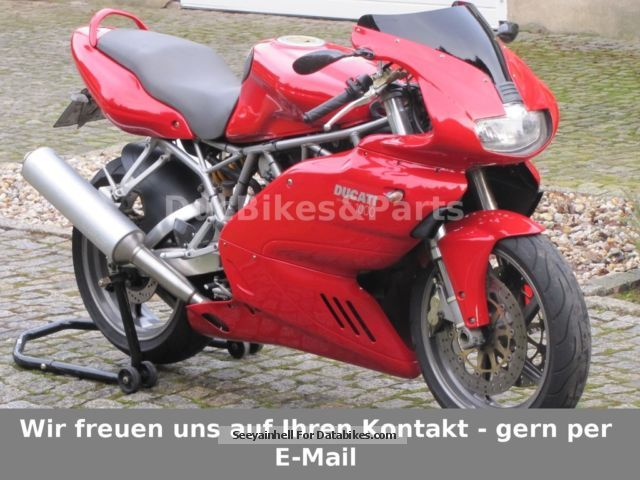 2004 Ducati  Super Sport SS 1000 i.e. scheckheft & beautiful Motorcycle Sports/Super Sports Bike photo