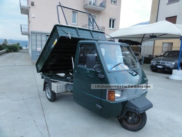 2004 Piaggio  Ape TM 220 con volante + RIBALTABILE automatico Motorcycle Other photo