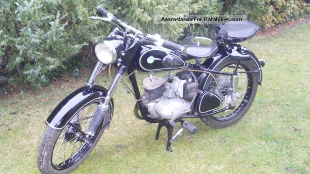 Mz  Rt 125/2 1955 Vintage, Classic and Old Bikes photo