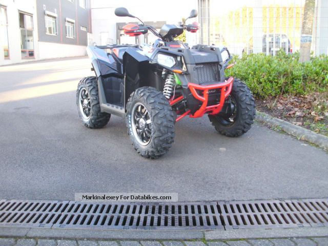 Polaris  Scrambler XP 850 H.O. with LOF-approval 2012 Quad photo
