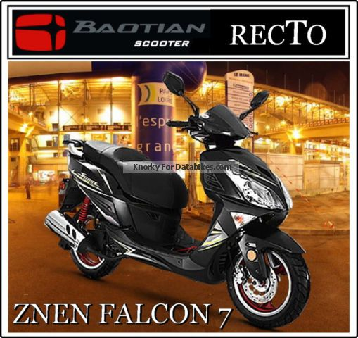 2012 Baotian  FALCON 7 NEW 25km / h 45km / h moped Motorcycle Scooter photo