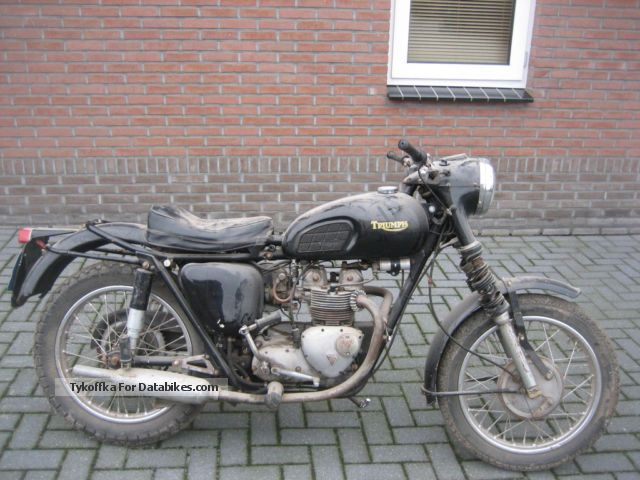 Triumph  3 TA BARN FUND PRICE 1799 EURO 1967 Vintage, Classic and Old Bikes photo